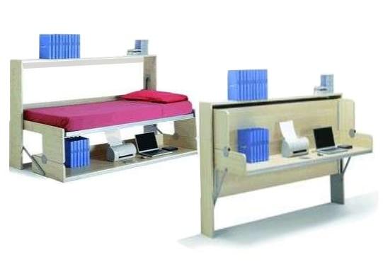 Стол-кровать своими руками. Преимущества мебельных трансформеров