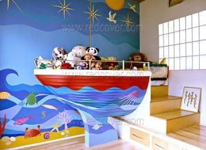 Детская мебель Корабль
