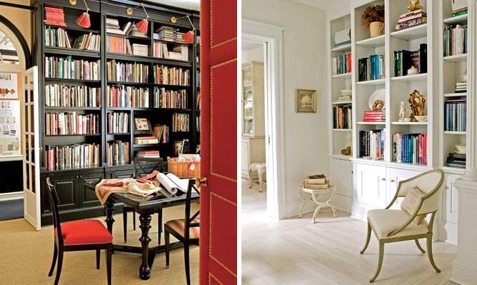 Мебель для библиотеки дома