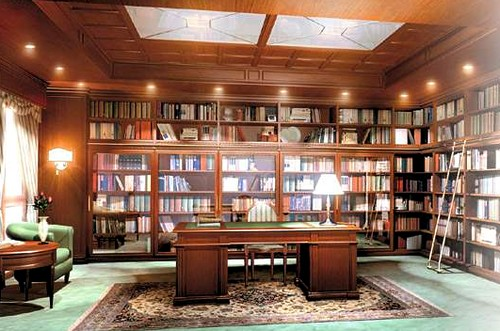 Мебель для библиотеки в кабинете