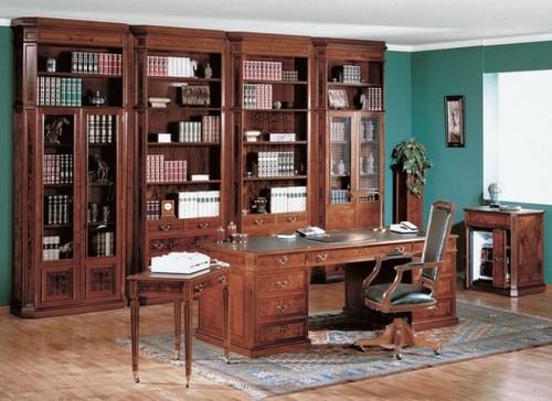 Кабинетная библиотечная мебель