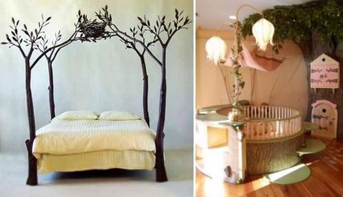 Сказочные виды детских кроватей