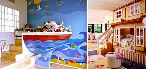 Необычные виды детских кроватей: на корабле