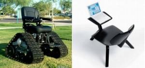 Вот кресло для путешествий и для написания путевых заметок