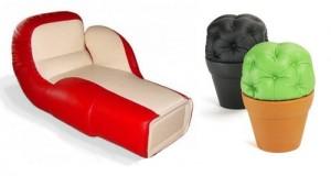 Креативная мягкая мебель