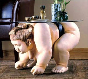 Дизайнерская мебель - японский мотив