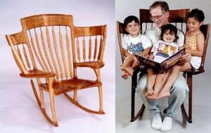 Чувствуется сразу образ семейного стула