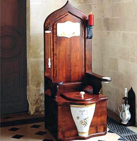 Концептуальный дизайн стула-унитаза