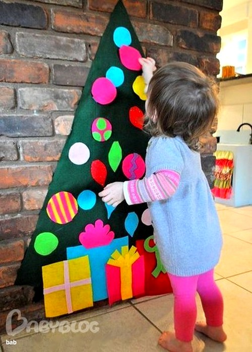 Настоящая детская елка
