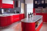 Белорусская кухня ЗОВ Цвет красная с серебром
